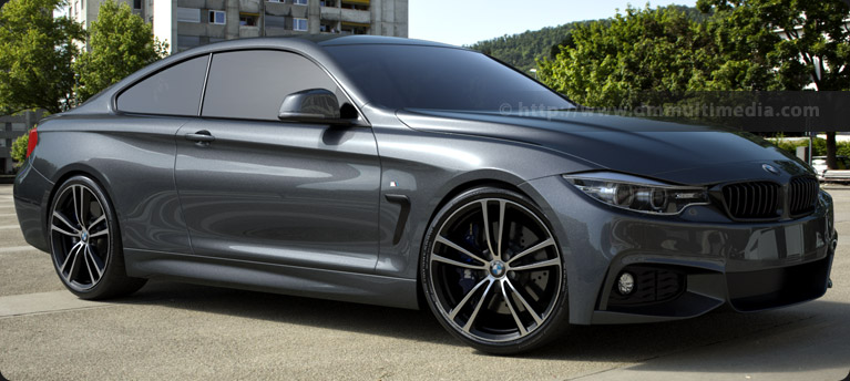 BMW F32 4 Series Coupe - Mineral Grey