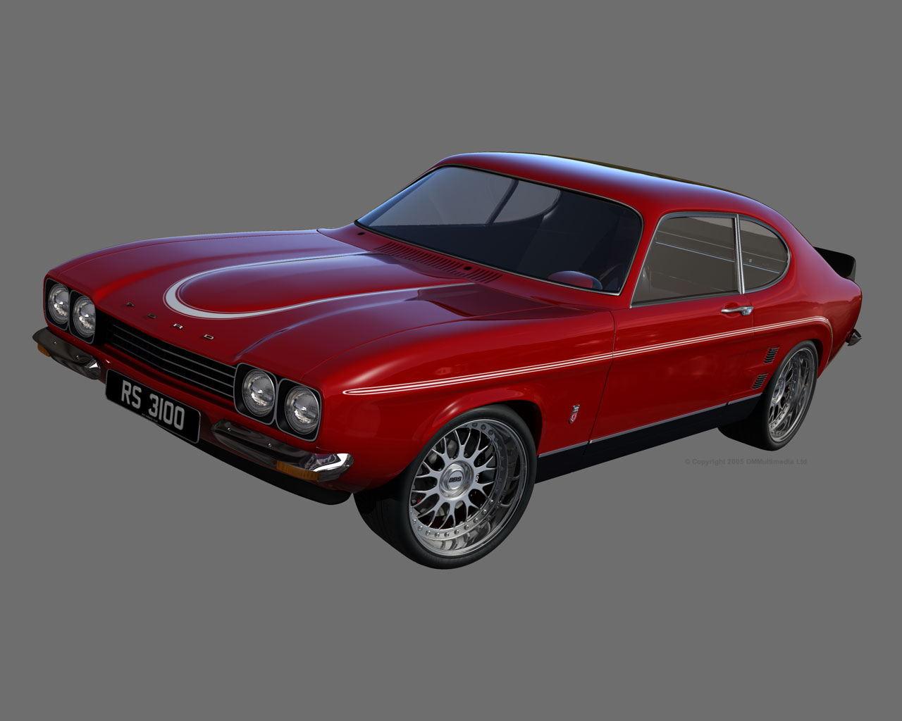DM Multimedia - Ford Capri Mk1
