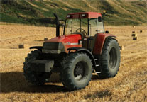 Case MX120 Maxxun Tractor model  scene