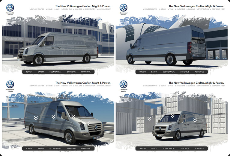 VW Crafter concept storyboard