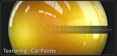Mental Ray car paint shaders 3DS Max Tutorial