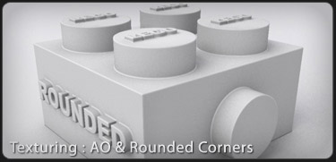 Mental Ray AO and Rounded Corners 3DS Max Tutorial