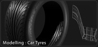 Car Tyre 3DS Max Tutorial