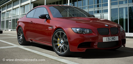 "BMW E92 M3 in Red with 19"" Alloys"
