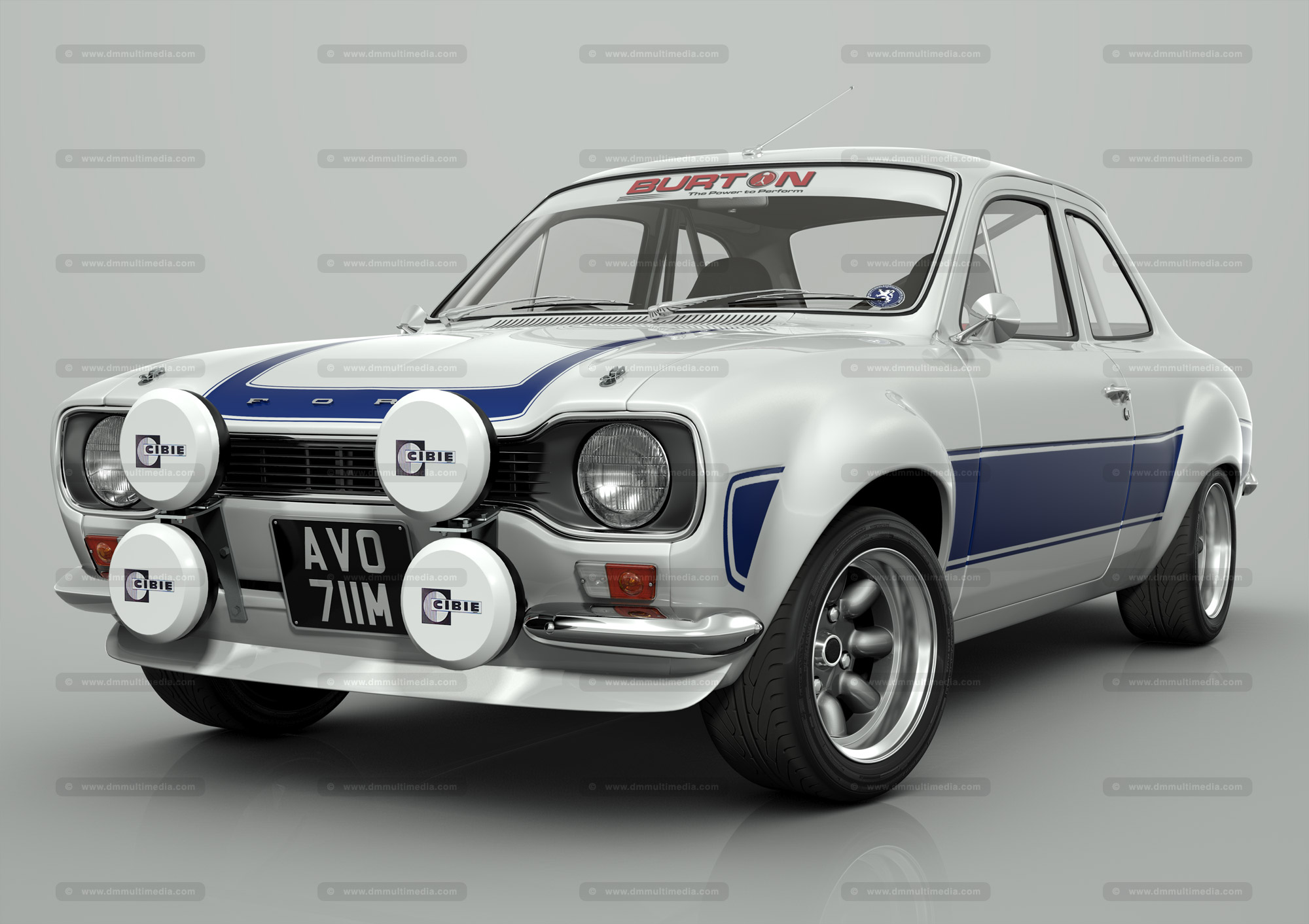Front Door Colours D M Multimedia 3d Cars Escort Mki Mk1 Escort Rs Work