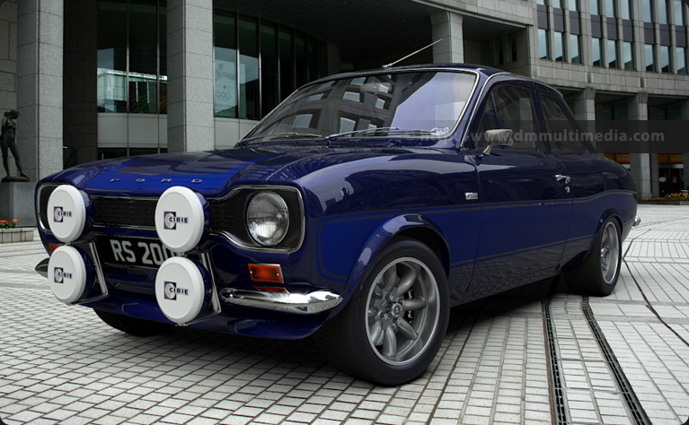 Escort black le mans