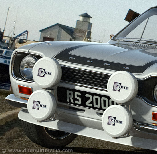 Escort MK1 RS2000 close-up