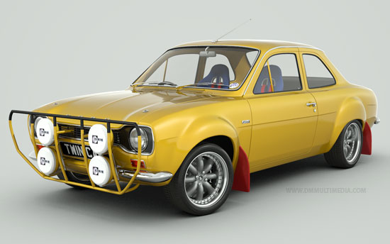 Escort MK1 Rally Spec