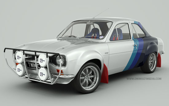 Classic Colours Escort MK1  Rally
