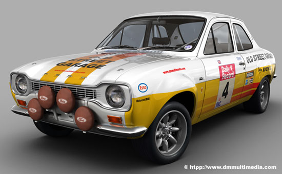 Works MK1 Escort Rally
