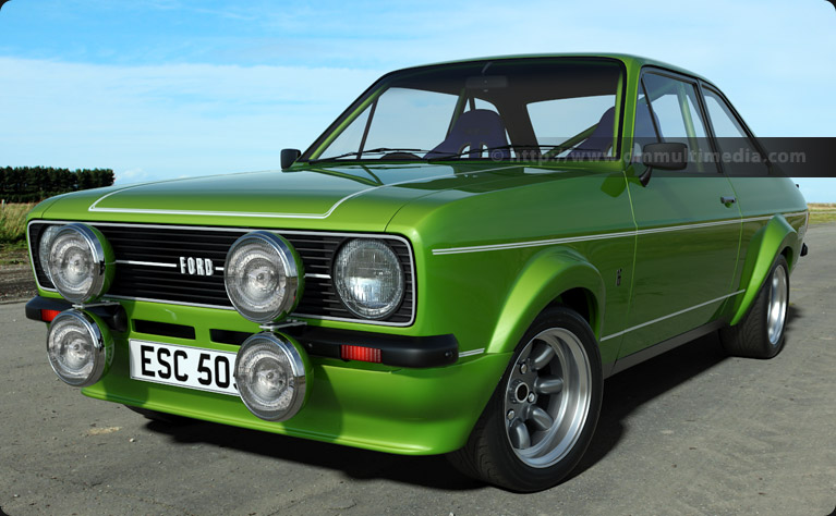 Escort MK2 Mexico in Ultimate Green