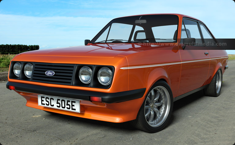 Escort MK2 RS2000 in Orange