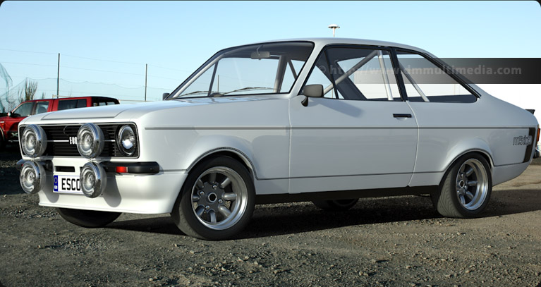 Escort MK2 Mexico in white