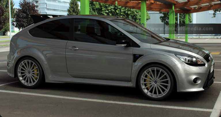Ford Focus MK2 RS in Silver