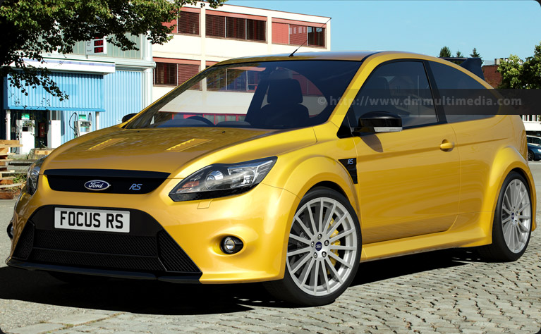 Ford Focus MK2 in Yellow