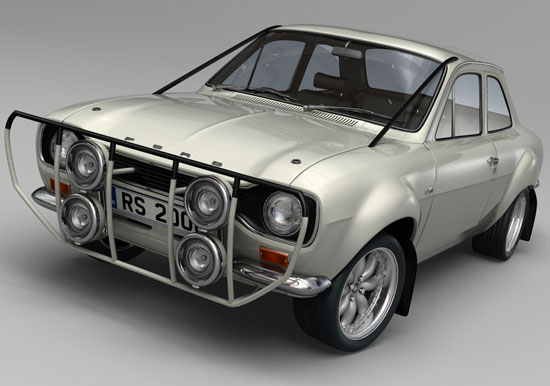MK1 Escort Works Rally Version