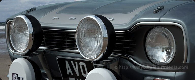 The Same Headlight As Shown Above On Escort MK1 RS Model