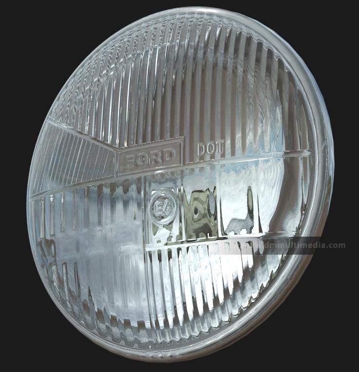 d m multimedia 3d tutorials headlight   spherical