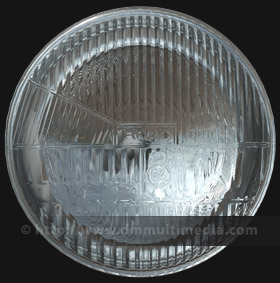 Rendered Headlight And Lense In 3ds Max With Mental Ray