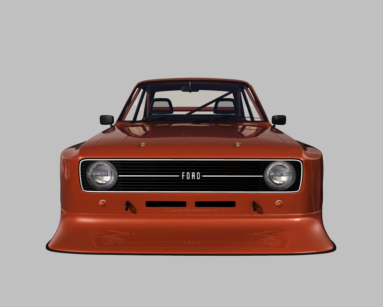 D M Multimedia 3d Cars Escort Mkii Mk2 Escort Rs Wallpapers